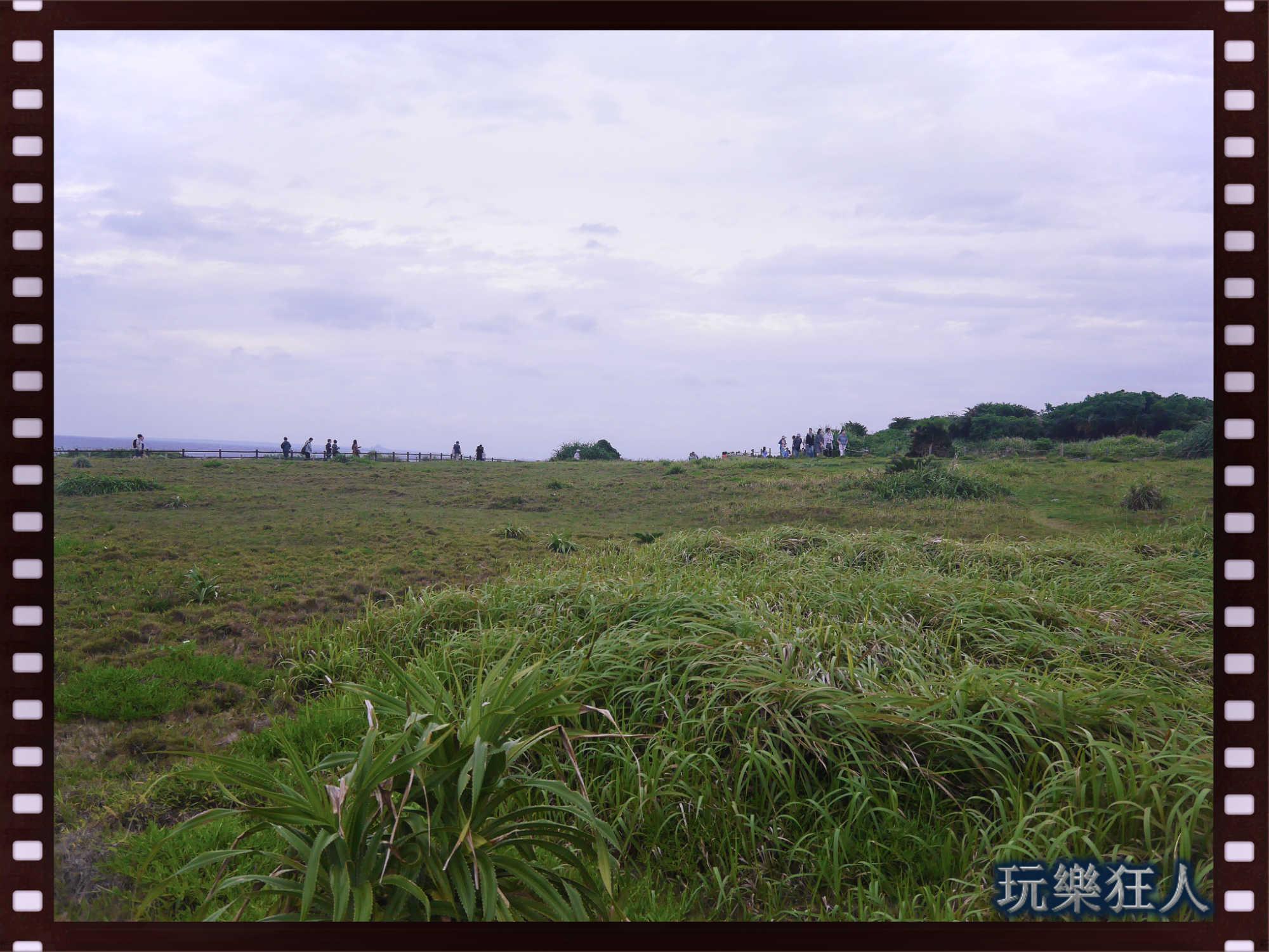 『萬座毛』大草原