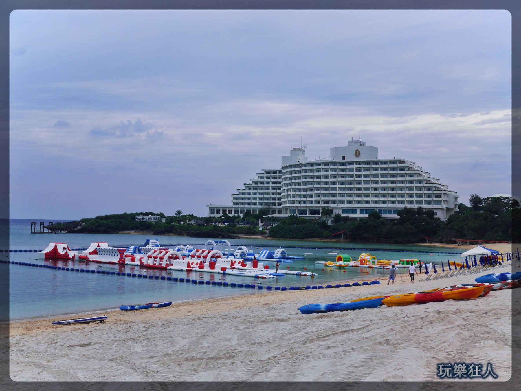 『ANA萬座海濱洲際酒店』海灘-海上設施