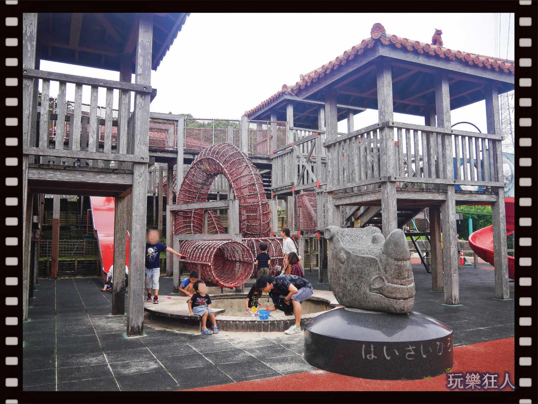 『浦添大公園』攀爬設施及沙坑
