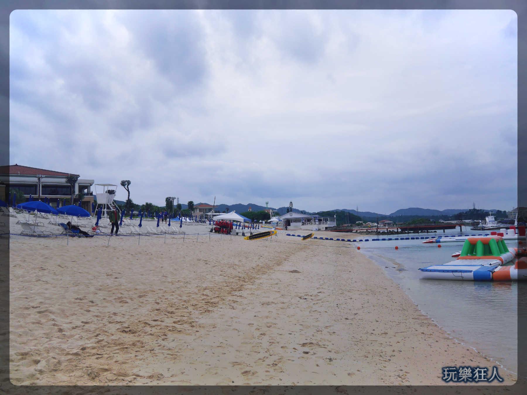 『ANA萬座海濱洲際酒店』海灘