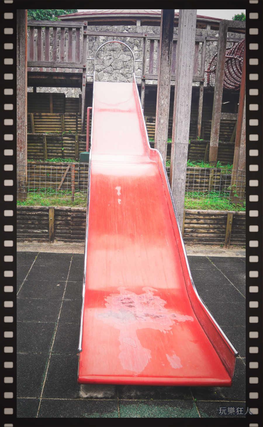 『浦添大公園』陡坡溜滑梯