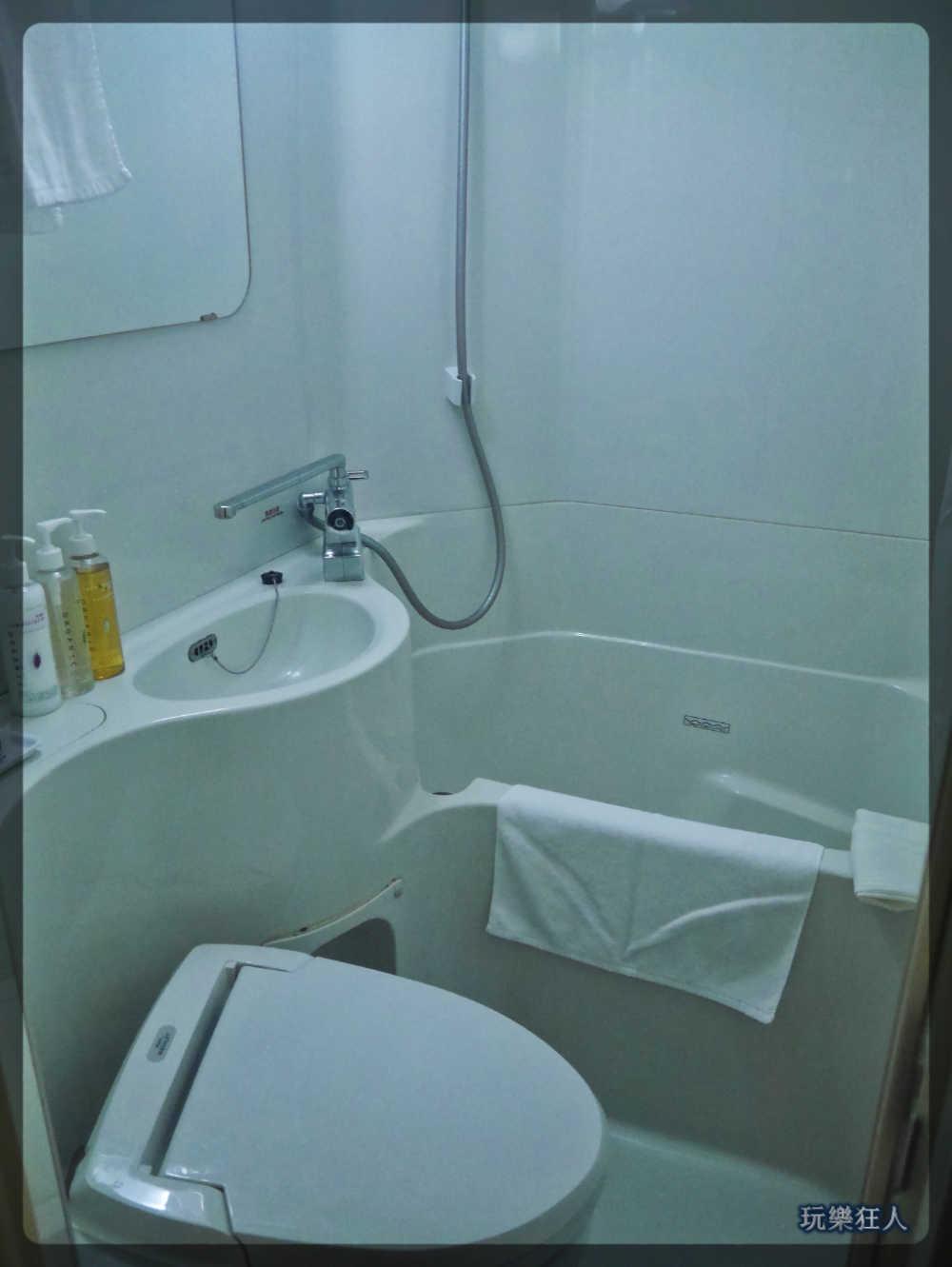 『Super Hotel』名護店-超級房型浴室
