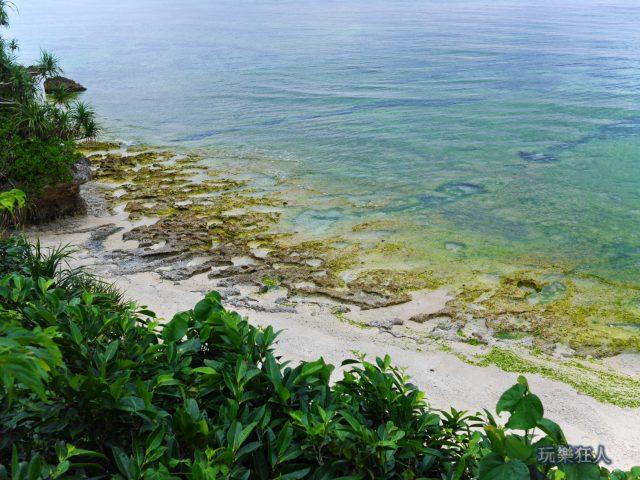 『海洋博公園』翡翠海灘-海岸散步道