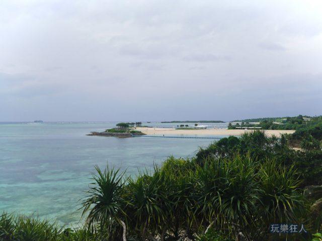 『海洋博公園』翡翠海灘-遠眺