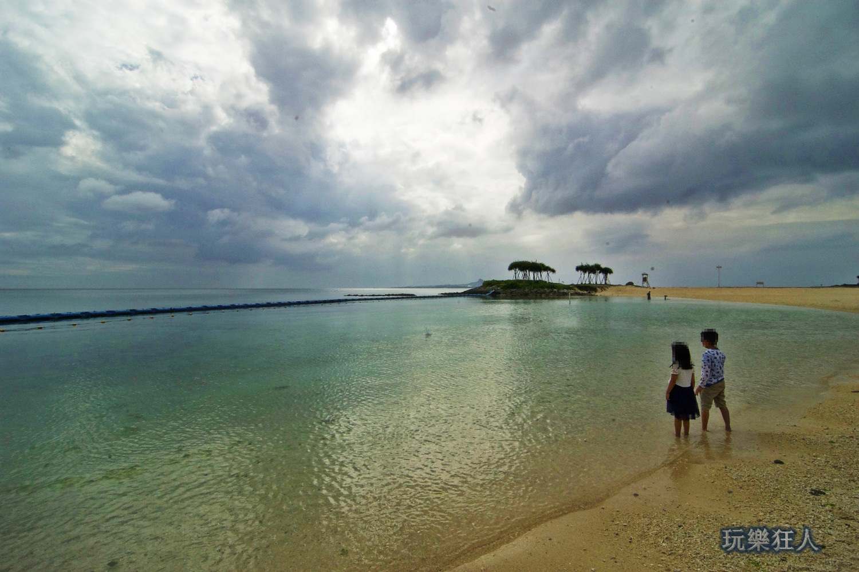 『海洋博公園』翡翠海灘