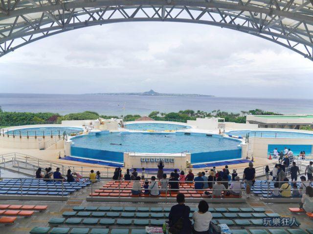 『海洋博公園』海豚劇場
