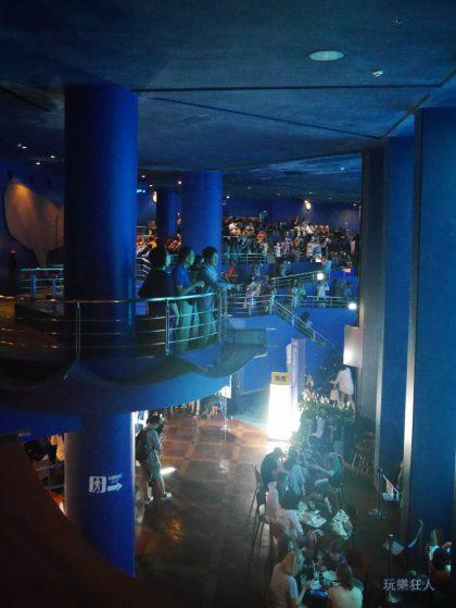 『海洋博公園』沖繩美麗海水族館-餐廳