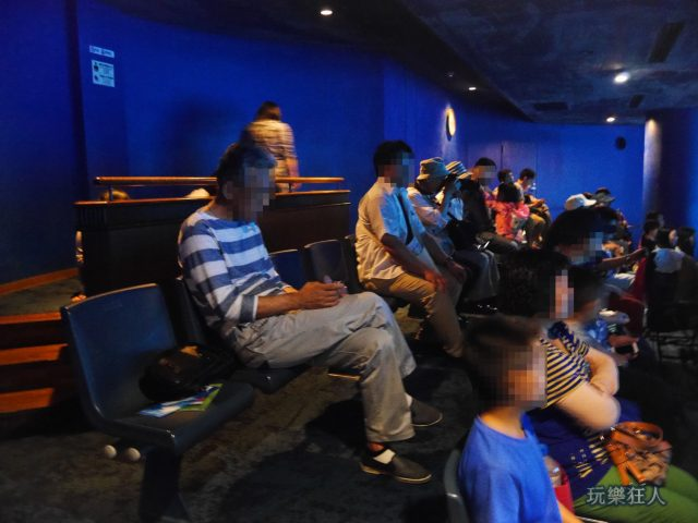 『海洋博公園』沖繩美麗海水族館-水槽觀賞區