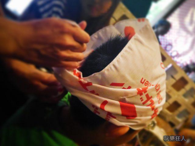 『一風堂兒童廚房』- 頭巾