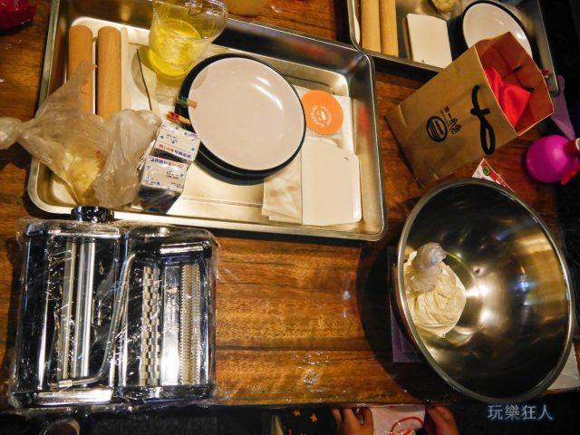 『一風堂兒童廚房』- 食材及工具