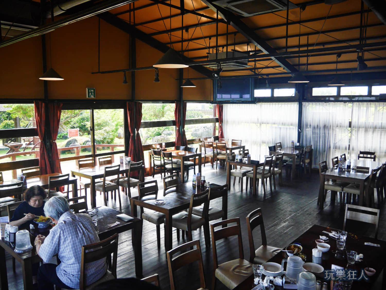 『Cafe Curcuma』室內用餐座位第二區