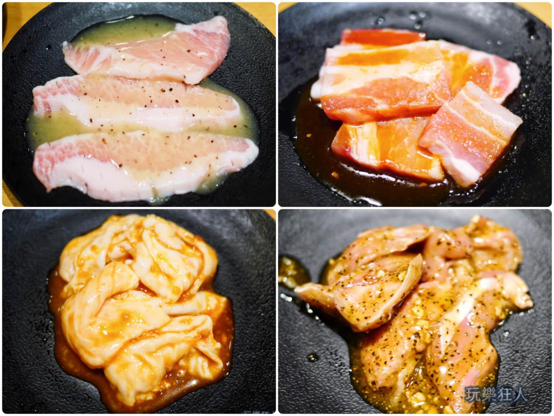 「燒肉王」豬肉食材