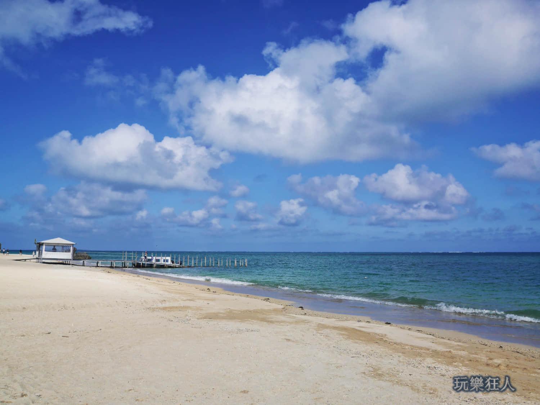 「新原海灘」