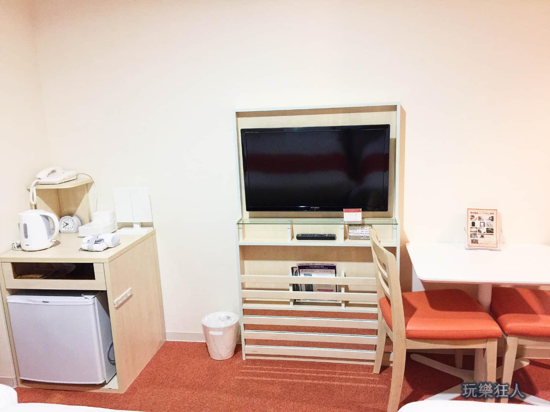 「艾貝斯特酒店」家庭房 - 冰箱&電視