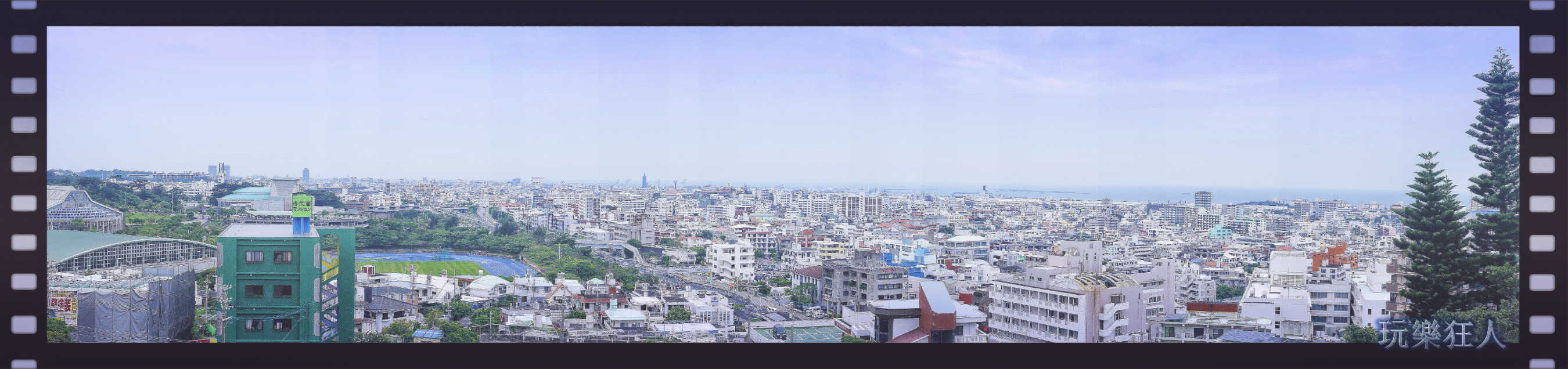 『浦添大公園』眺望台風景